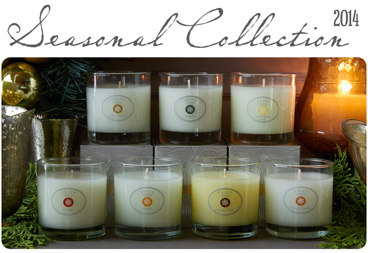 Seasonal Collection 2014 - Scented Candles