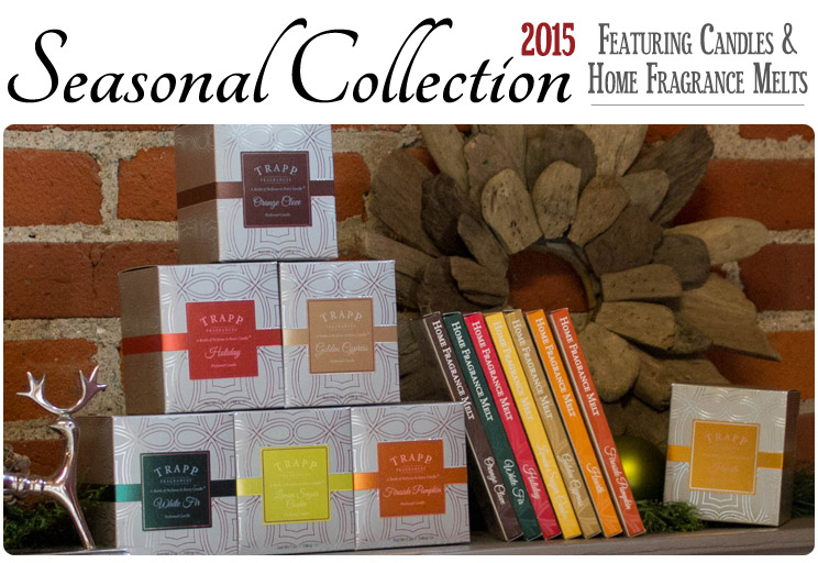 Seasonal Collection 2015 - Scented Candles and Home Fragrance Melts