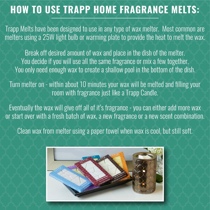 Elegant ... How To Use Trapp Home Fragrance Melts